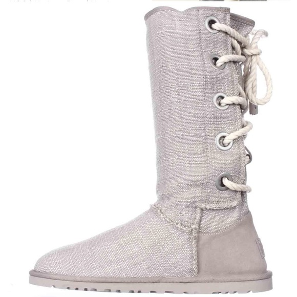 1e72b248e7f Womens UGG PURE Harbour Lace Up Mid Calf boots